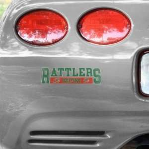 NCAA Florida A&M Rattlers Mom Car Decal