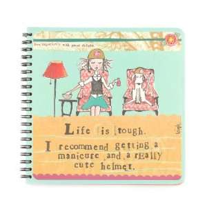 Life is Tough   Lined Writing Journals   Notebooks