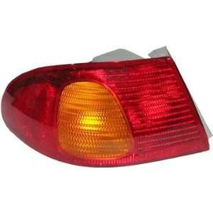 98 02 Toyota Corolla Tail Light Lamp Unit LEFT Automotive