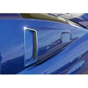 2005 2009 Ford Mustang Couture CVX Window Scoops Automotive