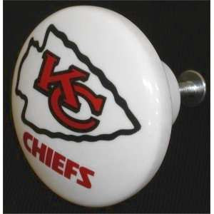 NFL Kansas City Chiefs Cabinet / Drawer Knob  Sports