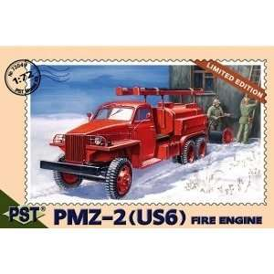 PMZ2 (US6) Fire Engine Truck 1 72 PST Models Toys & Games
