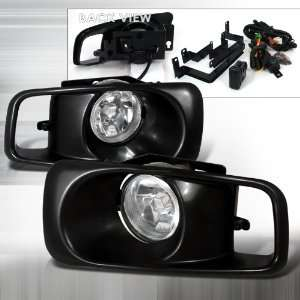 Honda Civic OEM Style Fog Lights With Wire Relay & Switch Automotive