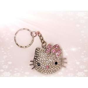 High Quality 4gb Hello Kitty Crystal Jewelry USB Flash Memory Drive