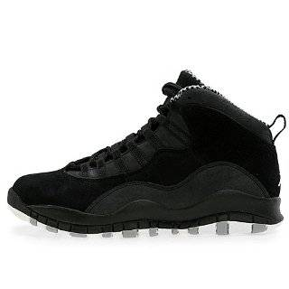 Mens Nike Air Jordan Retro 10 Basketball Shoes Black / White / Stealth