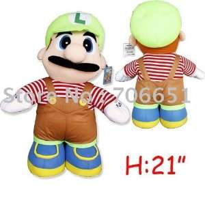 whole + 50cm super mario plush doll toy kids plush toy child