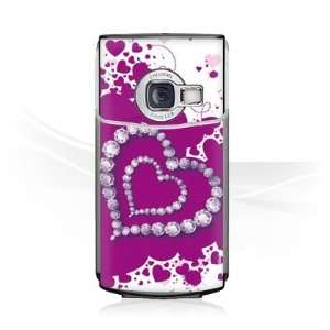Design Skins for Nokia N70   Diamond Heart Design Folie