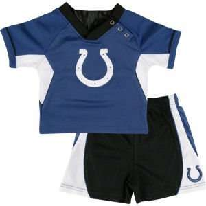 Indianapolis Colts Outerstuff NFL Toddler 2PC Raglan Short