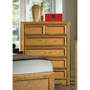 Woodcrafters Casual Home Chest in Warm Casual Oak
