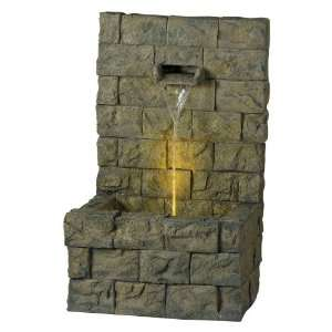 Kenroy Home Garden Wall Outdoor Floor Fountain Patio, Lawn & Garden