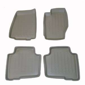 2005 2007 Jeep Grand Cherokee Carbox 4 Pc Floor Tray Set