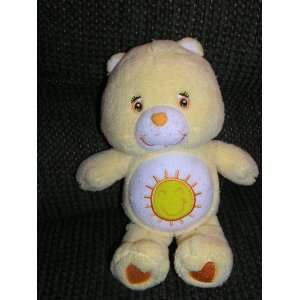 Care Bears Plush 10 Funshine Bear with Rattle Inside Toys & Games