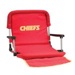 Kansas City Chiefs NFL Deluxe Stadium Seat Sports