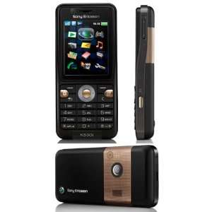 Sony Ericsson K530i Thunder Black Unlocked GSM Cell Phone
