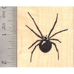 Black Widow Spider Rubber Stamp Arts, Crafts & Sewing