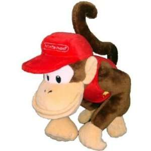 Nintendo Super Mario Bros. Diddy Kong Plush Toys & Games
