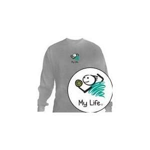 My Life   Volleyball Boy Long Sleeve T Shirt Youth