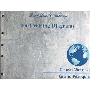 Victoria & Mercury Grand Marquis Wiring Diagram Manual Ford Books