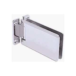 Grande 037 Series Satin Chrome Wall Mount Standard Back Plate Hinge