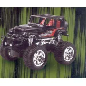 New Bright Jeep Wrangler Rubicon R/c Vehicle Toys & Games