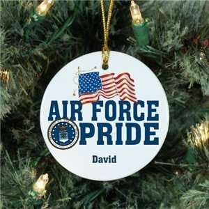 Christmas Air Force Ornament Military Pride Ornament