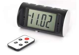 Digital Motion Detection Alarm clock camera spy DVR 1280*960