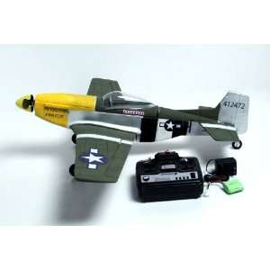 CH P51D MUSTANG Radio Remote Control Electric RC Warbird Airplane
