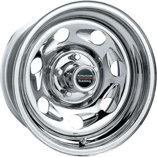 16 AMERICAN RACING TAILGUNNER WHEEL SET CHROME