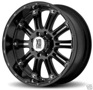 inch XD795 HOSS Black Offroad Truck RIMS Wheels & Nitto TIRES