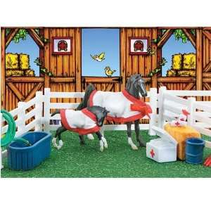 Breyer Horses Stablemates Horspital Play Set Sports