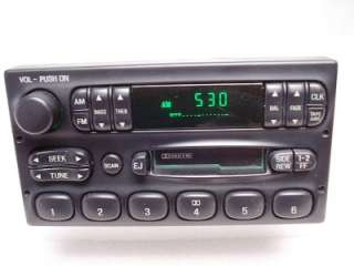 03 Ford F150 F250 F350 Explorer Truck Ranger Radio Tape Player