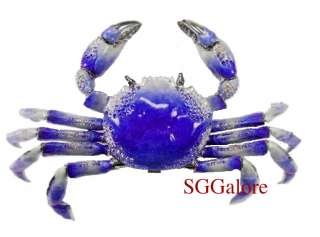 Limited RUCINNI Swarovski Crystals BeJeweled CRAB Trinket Jewelry BOX