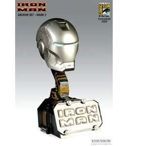 MARVEL Archive Set SDCC Exclusive Iron Man Helmet Mark 2