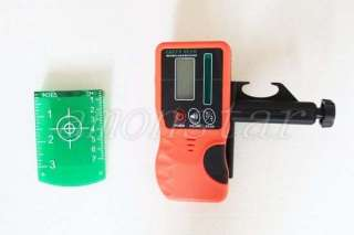 Self level Rotary green Laser Level+Tripod+staff