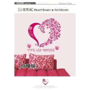 Reusable/removable Decoration Wall Sticker Decal   Heart