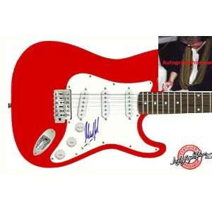 Rolling Stones Mick Taylor Signed Guitar & Proof PSA/DNA